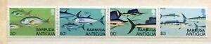 FAUNA_892 1979 Antigua Barbuda marine life fish 4 pc MNH Combined payments