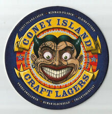 16 Coney Island Craft Lagers  Beer Coasters