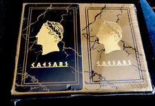 Double Pack of Vintage Caesars Palace playing cards in box