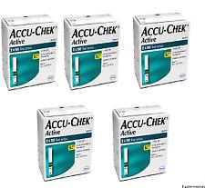 Accu Chek Active 500 test Strips FREE SHIP EXP-JAN/2021
