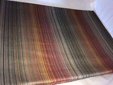 $795! NEW Peacock Alley Narrow Stripes Italian Cotton Satin KING Duvet Cover!