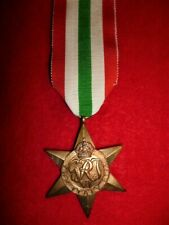 The Italy Star Medal WW2 - Genuine Period Medal, EF Condition