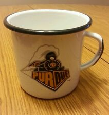 Tin cup purdue camping coffee black gold college university holder boilermakers