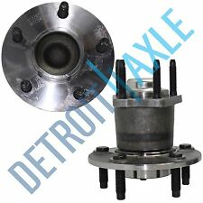 Pair: 2 New REAR Chevrolet Pontiac Wheel Hub and Bearing Assembly NO ABS