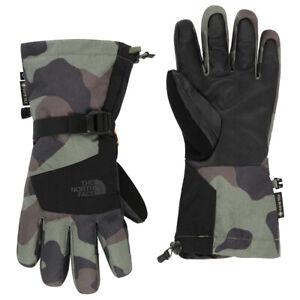 The North Face Men's Montana Etip GTX Glove, Green Terra Camito Print, XL 8108-B