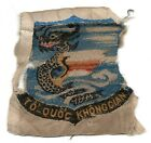 SOUTH VIETNAM AIR FORCE ARVN ADVISOR POCKET PATCH WOVEN SALTY -