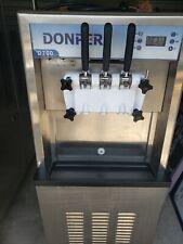 Commercial Soft Serve or Frozen Yogurt Machine-Donper D700