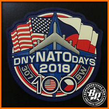 NATO DAYS 2018 PVC PATCH B-52H STRATOFORTRESS 93D BOMB SQ 307 BW CZECH REPUBLIC