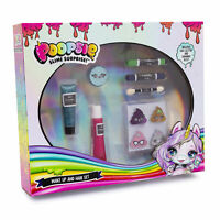 Poopsie Slime Surprise Make Up And Hair Set Fun Glitter Shimmer Dust Glam Up