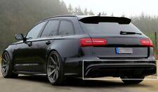 Diffusor für Audi A6 4G Spoiler Heckansatz Limousine Avant Gitter S-Line C7 RS6