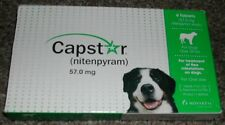 CAPSTAR for Large Dogs over 25lbs 6 Tablets US EPA & FDA APPROVED !!! AUTHENTIC