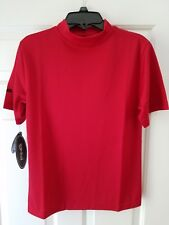 Nwt Ping Collection Youth Golf Shirt Medium Performance Dynamics Red Short Slee