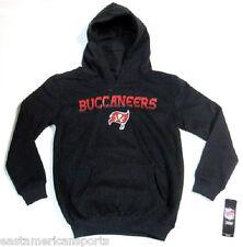 Tampa Bay Buccaneers NFL Pullover Black Hoodie Sweat Shirt Jacket Youth M 10/12