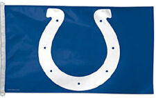 3 x 5 ft. NFL Indianapolis Colts Flag, Printed with Heading and D-rings