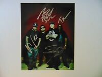 """Youth of the Nation"" P.O.D. Group Signed 8X10 Color Photo Todd Mueller COA"