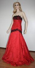 Abendkleid Ballkleid Brautkleid rot Spitze & Schürung Gr. 34 / 36 (4) NEU