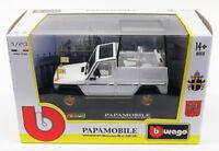 Burago 1/43 Scale Model Car 31018 - Mercedes Benz 230 GE Papamobile Pope - White