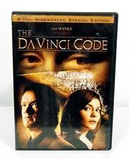 Da Vinci Code 2-Disc Widescreen Special Edition Dvd Hanks Mckellan Reno Bettany