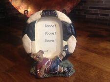 Boyd's Bear Soccer Picture Frame