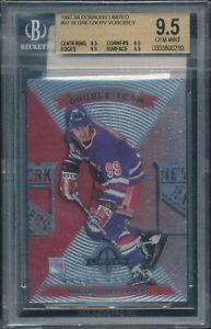 Wayne Gretzky 1997-98 Donruss Limited Double Team #97 BGS 9.5