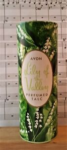 Vintage Lily of the Valley perfume talc by Avon.  3.5oz  NOS and unused.