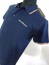 Polo Uomo Cesare Paciotti - Sconto -72%.Art.CP10PS - Vari Colori - Blu Tg L