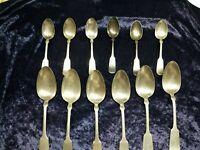 Vintage 1847 Rogers Bros AI Silverware Set 12 Pieces Spoons