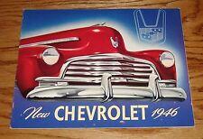 Original 1946 Chevrolet Full Line Sales Brochure 46 Chevy Fleetline Fleetmaster