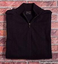 MASSIMO DUTTI Men Cotton Cashmere Zip Cardigan Jumper Sweater Size M