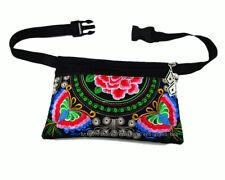 Vintage Hmong Thai Indian  Ethnic belt bum bag hippie hobo waist wallet bag 405B