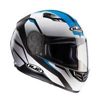 HJC CS-15 Sebka Blue Full Faced Motorcycle Motorbike Helmet - RRP £89.99