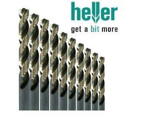 Heller HSS-G Long Series Ground Super Twist Metal Drill Bits