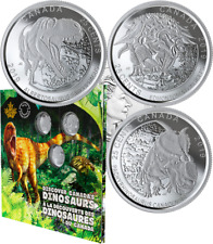 2019 Dinosaurs of Canada 25-Cent 3-Coin Gift Set