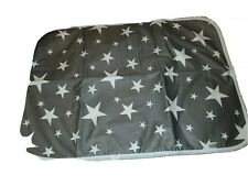 Stars Infant Gray Changing Pad ( New )