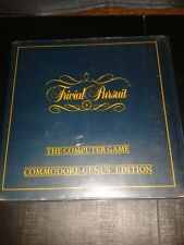 Commodore 64 RARE BOXED Game * TRIVIAL PURSUIT - GENUS EDITION * C64