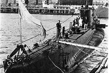 """WW2 - Sous-marin """"Casabianca"""" à Alger en 1943"""