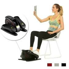 Desk Elliptical Electric Trainer Machine Leg Workout Pedal Cycle Exercise Bike