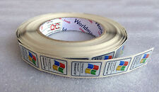 Lot of 10 Original Windows XP Replacement Stickers 17mm x 25.5mm For Desktop