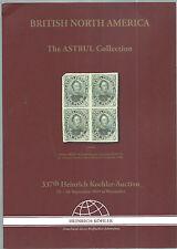 Asta SPECIALE British North America-CATALOGO SPECIALE 2009-astrul Collection