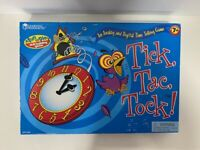Learning Resources Tick,Tac,Tock! Analog & Digital Time Telling Game - Open Box