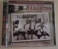 """SEXTETO Y SEPTETO HABANERO """"Grabaciones Completas Vol. 1: 1925-27"""""""