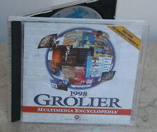 1998 * Grolier Multimedia Encyclopedia * Software