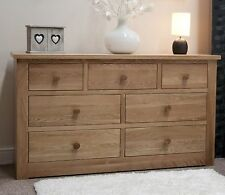 Ohio chest of drawers large solid oak bedroom furniture