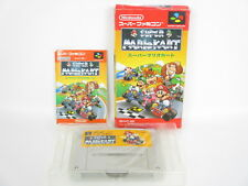 SUPER MARIO KART Ref/ccc Super Famicom Nintendo Free Shipping sf