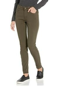 Womens Carhartt pants skinny tough stretch Olive green Size 8
