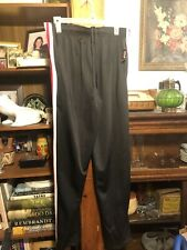 Nwt Zone Pro Black White Red Stripe Leggings Athletic Pants Mens Size M
