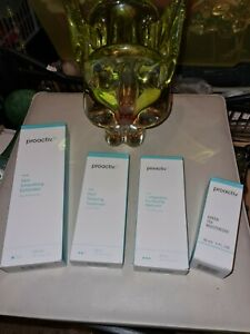 PROACTIV SMOOTHING EXFOLIATOR 1,2,3 STEP / GREEN TEA MOISTURISER