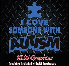 Autism * vinyl decal sticker Car Truck Kids Diesel 4x4 Family Mom Dad Home 2500
