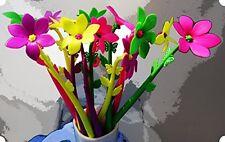 BUOP Zephyranthes Flower Style Ball-point Pen, Extra Fine Black Gel Ink Pen, Box