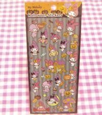 KAMIO JAPAN / Sanrio My Melody Halloween Sticker Sheet / Japan Stationery 2014